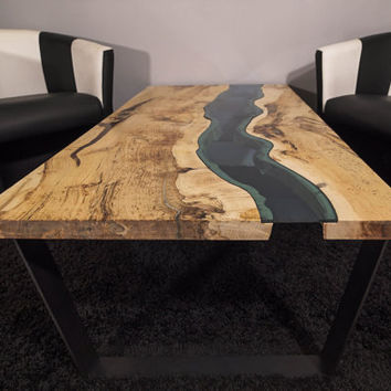 Live edge river coffee table SOLD