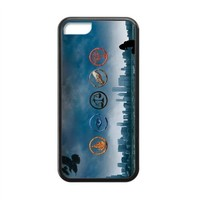MakersHouse Laser Technology Printed Divergent iPhone 5C Case Cover Rubber(Black)