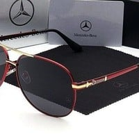 2018 New Luxury Brand Fashion Sunglasses Polarized Men Glasses Mercedes Benz