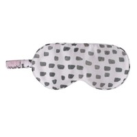 Lavender Polka Dot Silk Sleep Mask