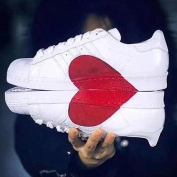 free shipping 82e26 e9326 Adidas Superstar 80s Women Men Lover Fashion Old Skool Sneakers Sport Shoes