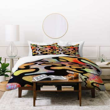 Brian Wall Fine Art Burst Duvet Cover