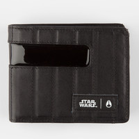 Nixon X Star Wars Shoutout Leather Wallet Black One Size For Men 27870310001