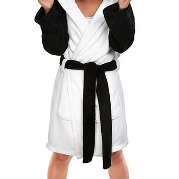 Kawaii Hooded Panda bathrobe