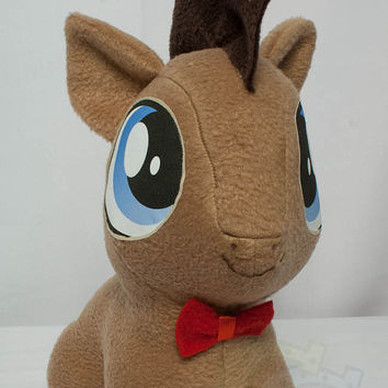 CHIBI Doctor Hooves MLP Hand-Made Custom Craft Plush