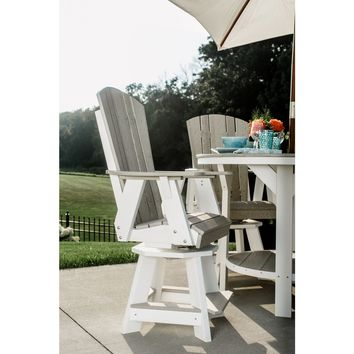 Wildridge Heritage Outdoor Balcony Swivel Chair  - Ships in 10-14 Business Days