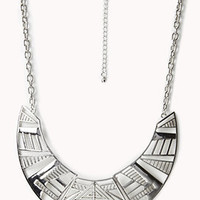Tribal Pattern Bib Necklace | FOREVER 21 - 1060430563