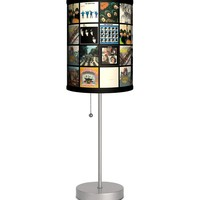 The Beatles - Album Covers Sport Silver Lamp