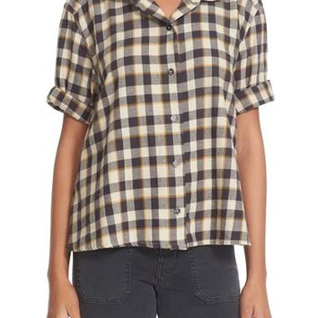 The Great Check Flannel Shirt | Nordstrom