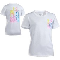 Under Armour Girls' Work Hard Graphic T-Shirt - Dick's Sporting Goods