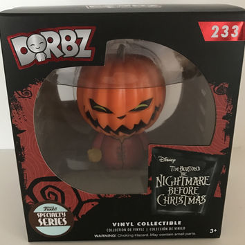 Funko Dorbz Disney Nightmare Before Christmas Pumpkin King Jack Specialty New