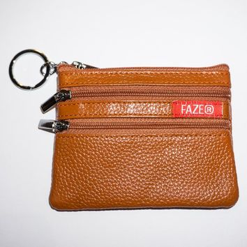 FAZE Coin Pouch in burnt orange