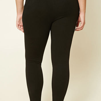 Plus Size Fleece-Lined Leggings