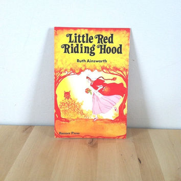 Little Red Riding Hood {1979} Vintage Book