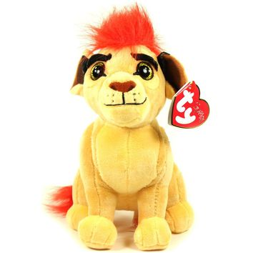 "Pyoopeo Ty Lion Guard Beanie Babies 6"" 15cm Kion Lion Plush Stuffed Animal Collectible Doll Toy with Tags"