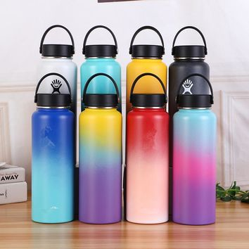 Stainless Steel Water Bottle Hydro Insulated Travel Portable Thermal