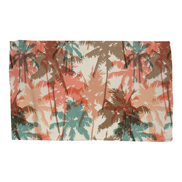 Summer Palm Trees Rug