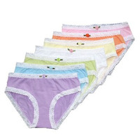 Esme Girl's Panty Pack 7pcs - Rainbow