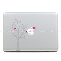 bird's Home Mac Decal Macbook Stickers Macbook by Newvision2012