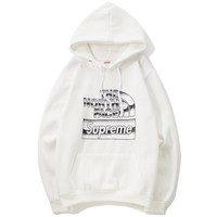 Supreme x The North Face joint collaboration series plus velvet hoodie F-A-KSFZ