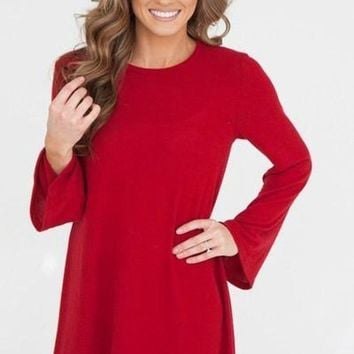 A Great Adventure Long Sleeve Dress FINAL SALE!