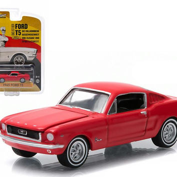 1965 Ford T5 (Mustang) Red Hobby Exclusive in Blister Pack 1-64 Diecast Model Car by Greenlight
