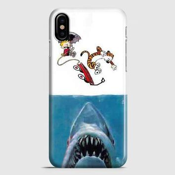 Calvin And Hobbes iPhone X Case