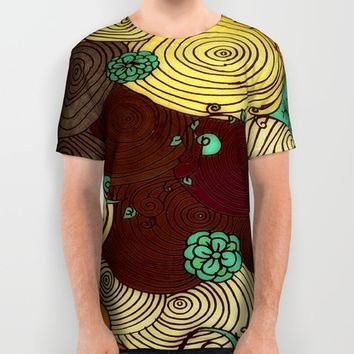 Earth All Over Print Shirt by DuckyB (Brandi)