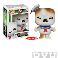 "Funko Pop! Movies: Ghostbusters - Stay Puft Marshmallow Man Toasted - 6"" Vinyl Figure"