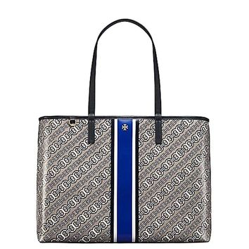 Tory Burch Gemini Link Bias Tote Purse Shoulder Bag PC Laptop Work School Travel