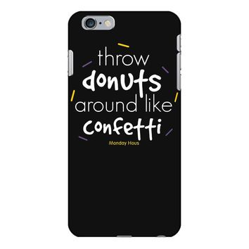 throw donuts iPhone 6 Plus/6s Plus Case