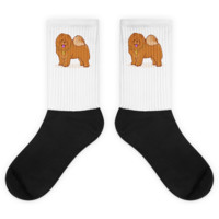 Chow Chow Socks For Women | Funny Dog Lover Sock | The Jazzy Panda