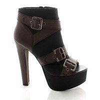 Sienna Strappy Ankle Boot