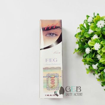 100% Original FEG eyebrow enhancer serum eyebrow enhancement solution eyebrow growth pencil 3ml eyebrow grower