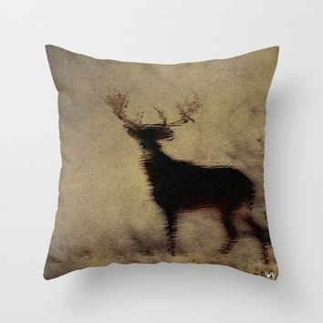 Winter Spirit Throw Pillow by Jessica Ivy