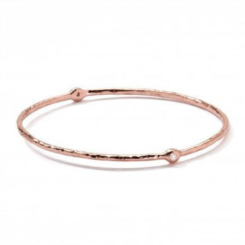 Ippolita Rosé Carino 2-Diamond Bangle