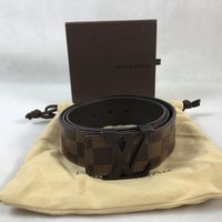 Brown Louis Vuitton Belt [size 90cm] come with Box and dustabg