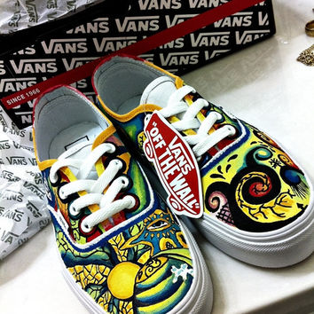 Trippy Shoe Custom Vans