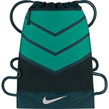 Nike Vapor 2.0 Gym Sack (MIDNIGHT TURQ/RIO TEAL/METALLIC SILVER)