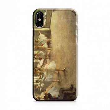 Degas Ballet Rehearsal iPhone X Case