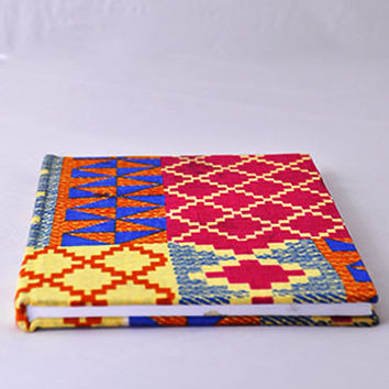 Red kente Notebook cover