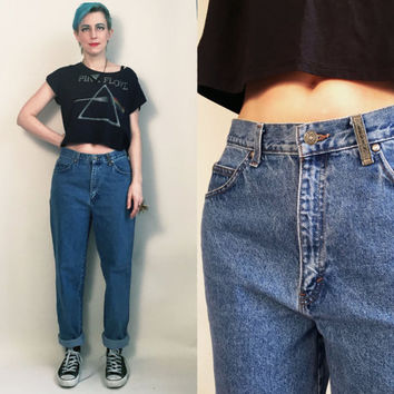 "80s Clothing / 80's Mom Jeans Levi's Vintage High Rise Denim Pants High Waisted Denim Women's Jeans, 31"" waist"