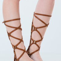 Crosswalk Strappy Gladiator Sandals