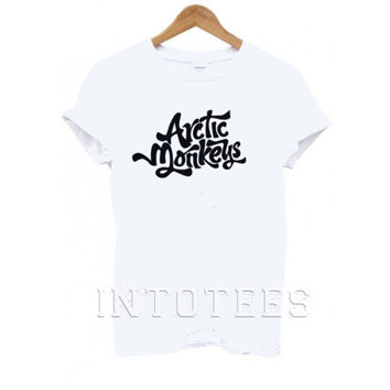 arctic monkeys shirt the arctic monkeys black white 5sos shirt 5 second of summer shirt 5 sos shirt new black Celine Paris Black White  09