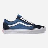 Vans Old Skool Mens Shoes Navy  In Sizes