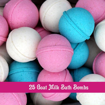 Wholesale Goat Milk  Bath Bombs Set of 25