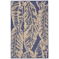 Trans Ocean Terrace Banana Leaf Area Rug