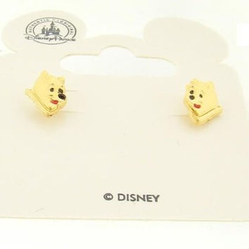 Disney Officially Licensed Winnie The Pooh Post Earrings