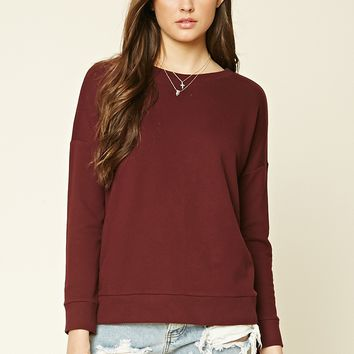 Lace-Up Pullover