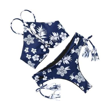 2017 ethnic style bikini two-piece swimsuit Sexy Women swimwear Bath Swimwear -0419